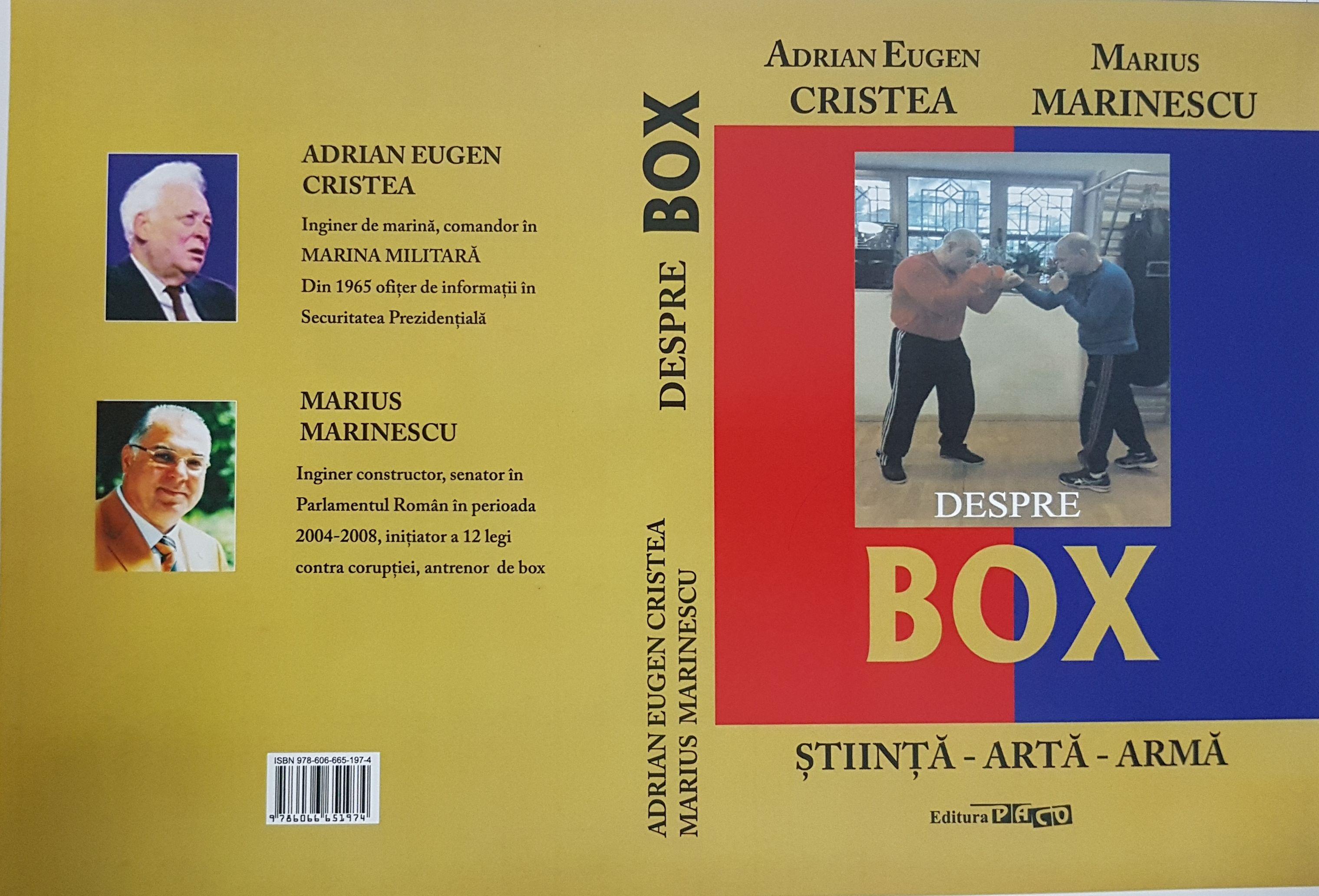 MARIUS MARINESCU – DESPRE BOX STIINTA-ARTA-ARMA